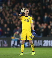 Burnley's Joe Hart acknowledges the Burnley fans at the end of the game<br /> <br /> Photographer Rob Newell/CameraSport<br /> <br /> The Premier League - Saturday 1st December 2018 - Crystal Palace v Burnley - Selhurst Park - London<br /> <br /> World Copyright &copy; 2018 CameraSport. All rights reserved. 43 Linden Ave. Countesthorpe. Leicester. England. LE8 5PG - Tel: +44 (0) 116 277 4147 - admin@camerasport.com - www.camerasport.com