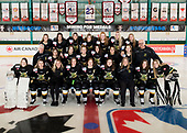 Sudbury, ON - Apr 20 2019 - Stoney Creek Sabres during the  2019 ESSO Cup at the Gerry McCrory Countryside Sports Complex in Sudbury, Ontario, Canada (Photo: Matthew Murnaghan/Hockey Canada)