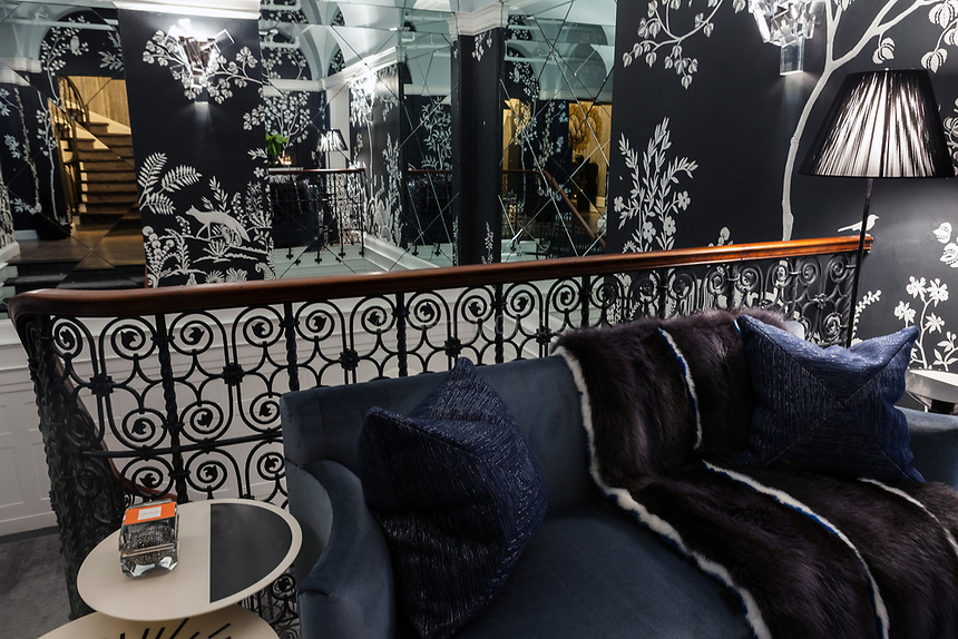 Design by Savage Interior Design at The 45th Kips Bay Decorator Show House, at 125 East 65th St. <br /> <br /> Danny Ghitis for The New York Times