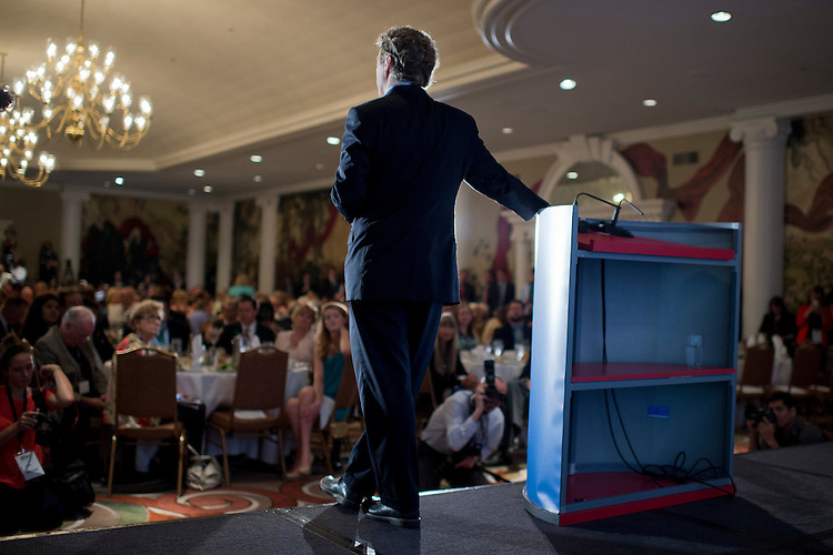 UNITED STATES - JUNE 18: Sen. Rand Paul, R-Ky., addresses the Faith & Freedom Coalition's Road to Majority conference which featured speeches by conservative politicians at the Omni Shoreham Hotel, June 18, 2015. (Photo By Tom Williams/CQ Roll Call)