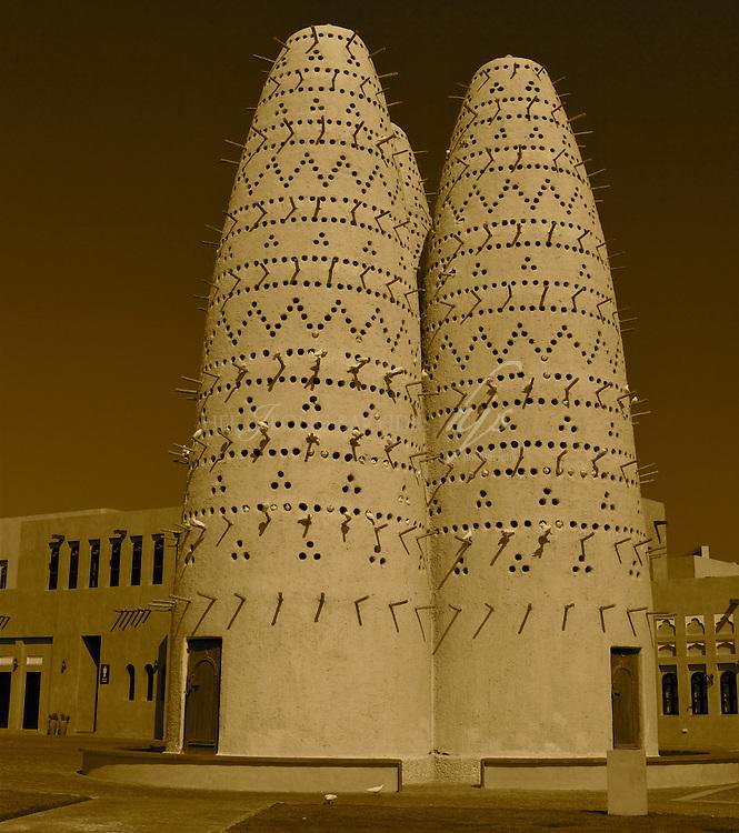 Birds tower in Katara, the Cultural Village, West Bay, Doha, Qatar | Nov 10