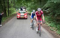 race leaders Jos&eacute; Gon&ccedil;alves (POR/Katusha-Alpecin) &amp; Laurens De Plus (BEL/QuickStep Floors) <br /> <br /> Ster ZLM Tour (2.1)<br /> Stage 4: Hotel Verviers &gt; La Gileppe (Jalhay)(190km)