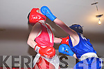 RED: Seanie Ryan, Trojan Boxing Club, Listowel and BLUE: Dean Griffin, Shadows Boxing Club, Killarney.