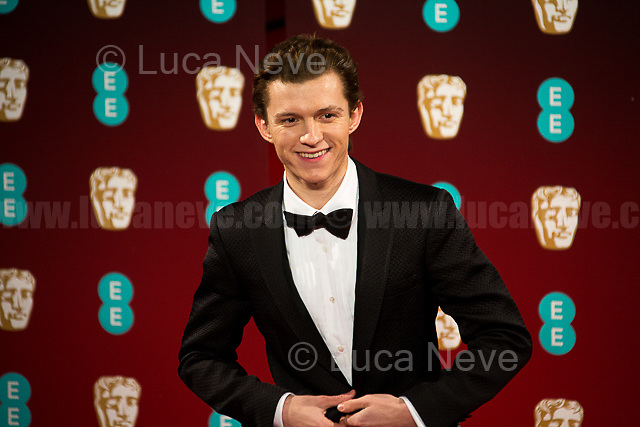 Tom Holland.<br />