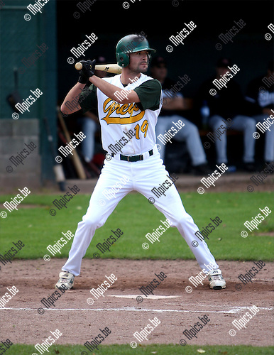 2007-09-15 / Baseball / Royal Greys - Mortsel Stars / Filip Van Der Meiren (Royal Greys)