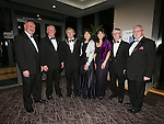 21/2/2015.   Attending the Lions Club 50th Anniversary Ball in the Strand Hotel were Lions Club committee members Tim O'Donoghue, Tom Madden, Noel Sexton,President,  Jenny Davitt, Gaye Blake, Tom Savage and Gerry Fitzmaurice.<br /> Photograph Liam Burke/Press 22