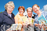 READING CIRCLE: Members of the Kells/Foilmore Reading Circle who are hosting a Book Sale at Kells Station in August to raise funds for the South Kerry Cunamh Project..L/r. Helena Murphy, Kathleen Golden, Kate Watkins and Ann Darwish.    Copyright Kerry's Eye 2008
