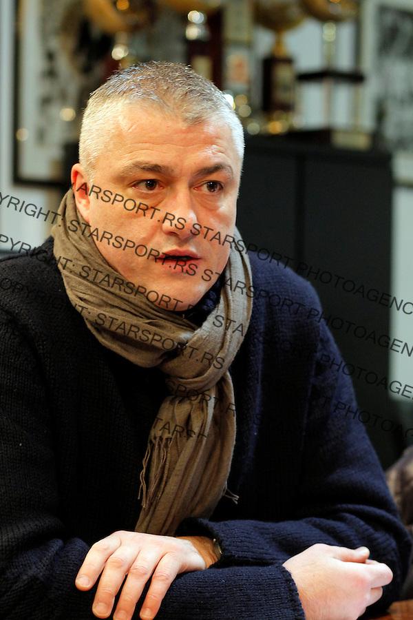 Predrag Sasa Danilovic KK Partizan 31. januar 2014.(credit image & photo: Pedja Milosavljevic / STARSPORT / +318 64 1260 959 / thepedja@gmail.com)