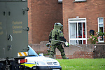 Army EOD remove a viable device from a house in Moneymore in Drogheda.<br /> Picture:  Andy Spearman www.newsfile.ie