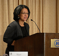 January 17, 2012  (Washington, DC)  Mayor Marilyn Strickland of Takoma, Washington at the US Conference of Mayors 80th Annual Winter Meeting at the Capitol Hilton in Washington, DC.  (Photo by Don Baxter/Media Images International)