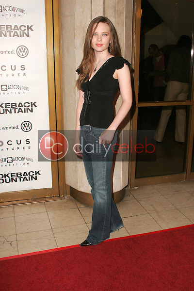 """Daveigh Chase<br />at the premiere of """"Brokeback Mountain"""". Mann National Theatre, Westwood, CA. 11-29-05<br />Dave Edwards/DailyCeleb.com 818-249-4998"""