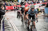 Ramses Debruyne (BEL)<br /> <br /> Junior Men road race<br /> from Richmond to Harrogate (148km)<br /> 2019 Road World Championships Yorkshire (GBR)<br /> <br /> ©kramon