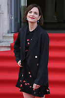 American actress Elizabeth McGovern attends the UK Premiere of The Wife at Somerset House in London. August 9, 2018. Credit: Matrix/MediaPunch ***FOR USA ONLY***<br />