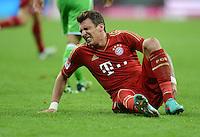 FUSSBALL   1. BUNDESLIGA  SAISON 2012/2013   5. Spieltag FC Bayern Muenchen - VFL Wolfsburg    25.09.2012 Mario Mandzukic (FC Bayern Muenchen)