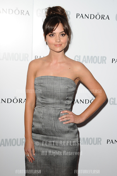 Jenna Louise Coleman arriving for the 013 Glamour Women of The Year Awards, Berkeley Square, London. 04/06/2013 Picture by: Steve Vas / Featureflash