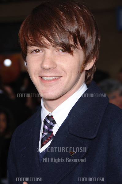 "Actor DRAKE BELL at the world premiere of ""Ice Age: The Meltdown"" at the Grauman's Chinese Theatre, Hollywood..March 19, 2006  Los Angeles, CA..© 2006 Paul Smith / Featureflash"