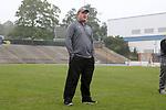 CHAPEL HILL, NC - MAY 12: Elon head coach Josh Hexter. The Elon University Phoenix played the University of Virginia Cavaliers on May 12, 2017, at Fetzer Field in Chapel Hill, NC in an NCAA Women's Lacrosse Tournament First Round match. Virginia won the game 11-9.