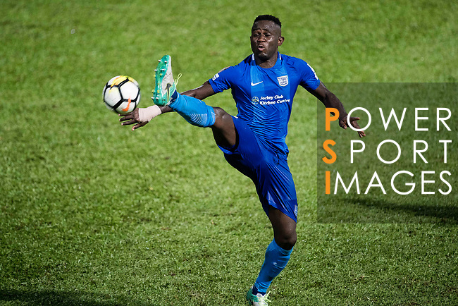 SC Kitchee Forward Alexander Akande in action during the Community Cup match between Kitchee and Eastern Long Lions at Mong Kok Stadium on September 23, 2017 in Hong Kong, China. Photo by Marcio Rodrigo Machado / Power Sport Images