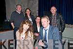 """Slyvia"" :Tralee Bay Players who presented ""Slyvia"" at st John's Arts Centre, Listowel on Saturday night last. Front : Aisling Sharkey & Tadgh O'Shea. Back : Gerry Creehan, Yvonne McCarthy, Anne Fitzgerald & director Chris Fitzgerald."