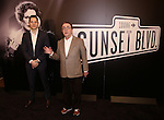 Producers Mike Bosner and Paul Blake attend the 'Sunset Boulevard' Broadway Cast Photocall at The Palace Theatre on January 25, 2017 in New York City.
