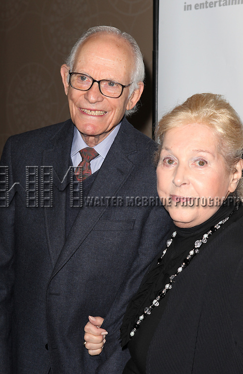 Alan Bergman & Marilyn Bergman.attending the Actors Fund Gala honoring Harry Belafonte, Jerry Stiller, Anne Meara & David Steiner at the Mariott Marquis Hotel in New York City on 5/21/12