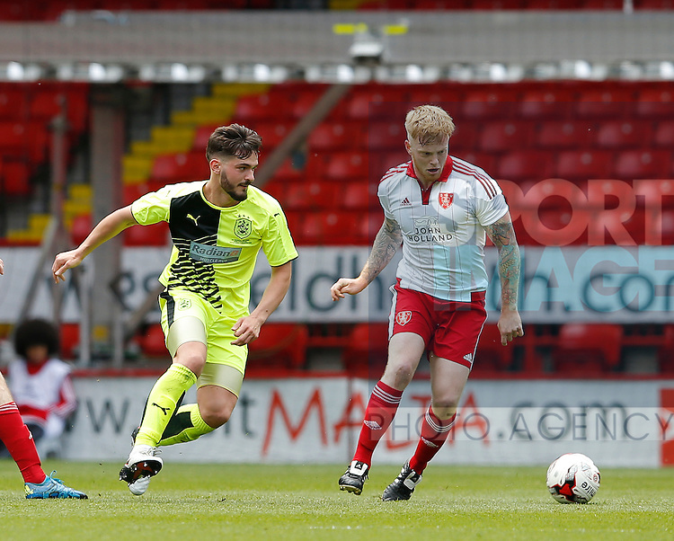 Terry Kennedy of Sheffield Utd in action during the PDL U21 Final at Bramall Lane Sheffield. Photo credit should read: Simon Bellis/Sportimage