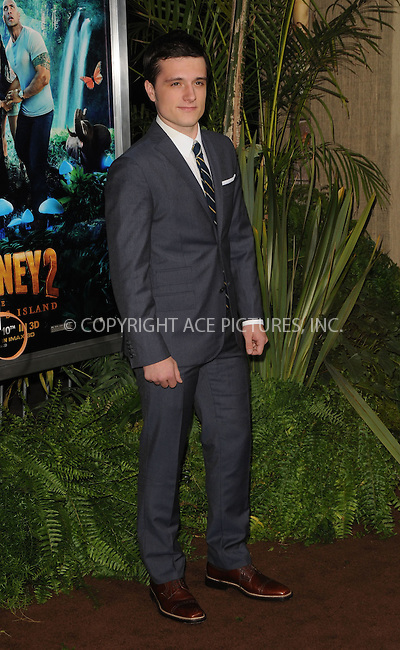 WWW.ACEPIXS.COM . . . . .....February 2 2012, LA....Josh Hutcherson arriving at the 'Journey 2: The Mysterious Island'  premiere at Grauman's Chinese Theatre on February 2, 2012 in Hollywood, California.  ....Please byline: PETER WEST - ACE PICTURES.... *** ***..Ace Pictures, Inc:  ..Philip Vaughan (212) 243-8787 or (646) 769 0430..e-mail: info@acepixs.com..web: http://www.acepixs.com