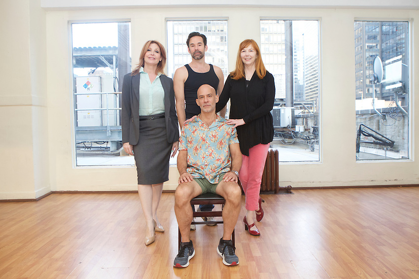 New York, NY - July 8, 2016: Initial press photos of the cast of Joey Variations: A Play With Dance by Jon Spano.<br /> <br /> <br /> CREDIT: Clay Williams.<br /> <br /> &copy; Clay Williams / claywilliamsphoto.com