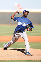 Luis Vasquez - Los Angeles Dodgers - 2010 Instructional League.Photo by:  Bill Mitchell/Four Seam Images..