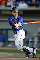 August 30 2009: Alberto Rosario of the Rancho Cucamonga Quakes during game against the Stockton Ports at The Epicenter in Rancho Cucamonga,CA.  Photo by Larry Goren/Four Seam Images