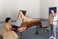 Travail de l'Académie de musique ancienne