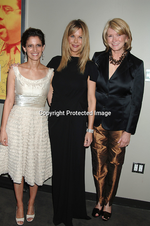 Cindi Leive, Meg Ryan and Martha Stewart ..at The 40th Anniversary of The National Magazine Awards..at Rose Hall at Jazz at Lincoln Center on May 9, 2006. ..Robin Platzer, Twin Images