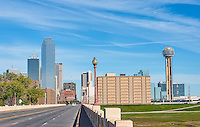 This is an image we took of Dallas from across the bridge that goes into downtown Dallas.