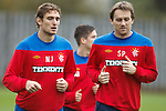 Nikica Jelavic and Sasa Papac