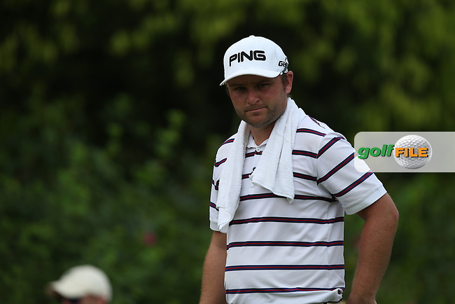 Andy Sullivan (ENG) carded a low round of 66 to lie just one shot behind leader Lee Westwood (ENG) during Round Three of the 2014 Maybank Malaysian Open at the Kuala Lumpur Golf & Country Club, Kuala Lumpur, Malaysia. Picture:  David Lloyd / www.golffile.ie