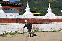 A old man from Bumthang, Bhutan. Arindam Mukherjee..