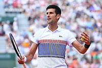 Novak Djokovic (Ser)<br /> Tennis Roland Garros 2017 <br /> Foto Antoine Couvercelle / Panoramic / Insidefoto <br /> ITALY ONLY