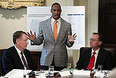 Scott Turner, executive director of the White House Opportunity and Revitalization Council, speaks during a Cabinet Meeting in the Cabinet Room of the White House, on July 16, 2019 in Washington, DC.<br /> Credit: Oliver Contreras / Pool via CNP