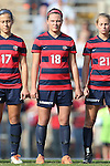 16 November 2013: Liberty's Jaime Bouffard. The University of North Carolina Tar Heels hosted the Liberty University Flames at Fetzer Field in Chapel Hill, NC in a 2013 NCAA Division I Women's Soccer Tournament First Round match. North Carolina won the game 4-0.