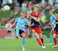 Boyds, MD - Saturday June 25, 2016: Sarah Killion, Joanna Lohman during a United States National Women's Soccer League (NWSL) match between the Washington Spirit and Sky Blue FC at Maureen Hendricks Field, Maryland SoccerPlex.