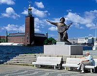 Sweden, Stockholm: Stadhuset (Cityhall) | Schweden, Stockholm: Stadhuset (Cityhall)