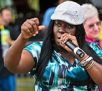 Cheeky Blakk at Voodoo Fest 2011 in New Orleans, LA.