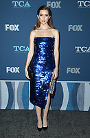 04 January 2018 - Pasadena, California - Olivia Macklin. 2018 Winter TCA Tour - FOX All-Star Party held at The Langham Huntington Hotel. <br /> CAP/ADM/FS<br /> &copy;FS/ADM/Capital Pictures