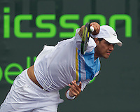Eduardo SCHWANK (ARG) against Nicolas ALMAGRO (ESP) in the second round of the mens singles. Almagro beat Schwank 6-4 7-5..International Tennis - 2010 ATP World Tour - Sony Ericsson Open - Crandon Park Tennis Center - Key Biscayne - Miami - Florida - USA - Fri 26 Mar 2010..© Frey - Amn Images, Level 1, Barry House, 20-22 Worple Road, London, SW19 4DH, UK .Tel - +44 20 8947 0100.Fax -+44 20 8947 0117