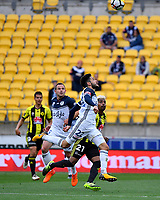 Melbourne Victory&rsquo;s Stefan Nigro in action during the A League - Wellington Phoenix v Melbourne Victory FC at Westpac Stadium, Wellington, New Zealand on Sunday 3 December.<br /> Photo by Masanori Udagawa. <br /> www.photowellington.photoshelter.com