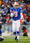 9 December 2007: Buffalo Bills kicker Rian Lindell celebrates his 18th consecutive field goal, a Buffalo record, against the Miami Dolphins at Ralph Wilson Stadium in Orchard Park, NY. The Bills defeated the Dolphins 38-17. ..Mandatory Photo Credit: Ed Wolfstein Photo