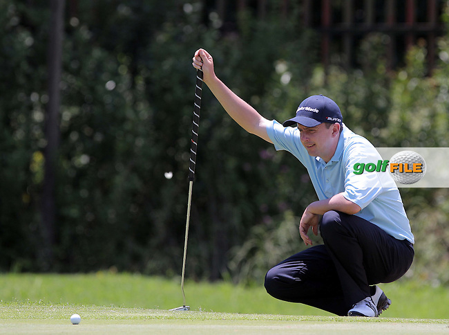 JOHANNESBURG, SOUTH AFRICA - JANUARY 12,  Peter Lawrie during day 1 of the Joburg Open from the Royal Johannesburg and Kensington Golf Club on January 12, 2012 in Johannesburg, South Africa..Photo by Carl Fourie www.golffile.ie