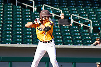 Alex Merchant (7) of Liberty High School in Brentwood, California during the Baseball Factory All-America Pre-Season Tournament, powered by Under Armour, on January 13, 2018 at Sloan Park Complex in Mesa, Arizona.  (Freek Bouw/Four Seam Images)