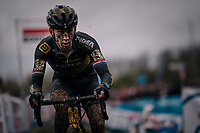 Lars van der Haar (NED/Telenet Fidea Lions)<br /> <br /> men's race<br /> Soudal Jaarmarktcross Niel 2018 (BEL)
