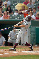 SAN ANTONIO, TX - MARCH 12, 2006: The Texas A&M University Aggies vs. The University of Texas at San Antonio Roadrunners Baseball at Nelson Wolff Stadium. (Photo by Jeff Huehn)